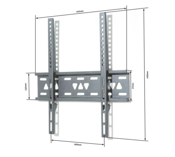 Alphason TV Bracket Mount Fixed Ultra Slim For 26 - 50 Inch TV Screens (ATVB599F)