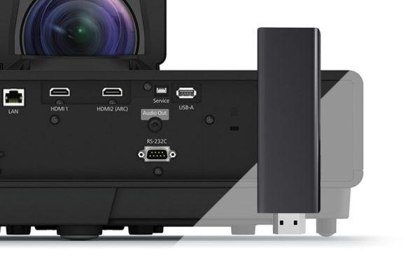 Epson EH-LS500B 4K Ultra Short Throw Projector 5