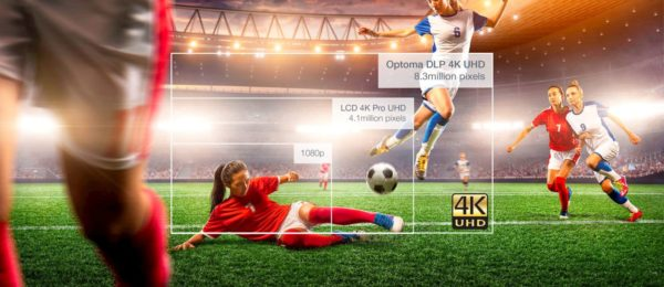 Optoma UHZ65LV Laser 4K Ultra HD Projector (5000 lumens) 6