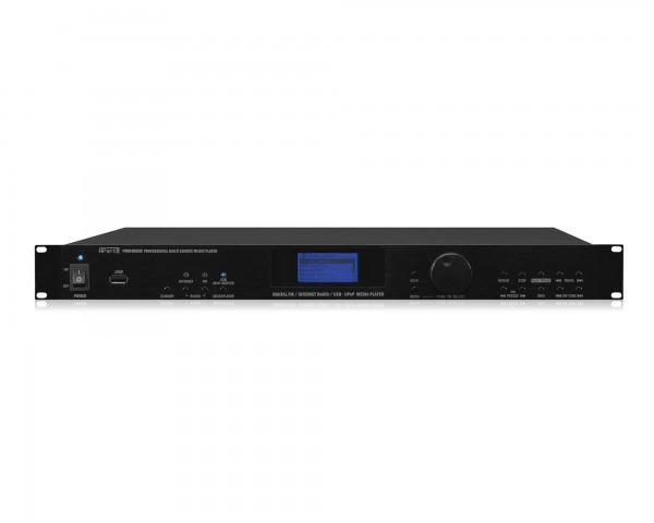 Apart PMR4000R Internet/FM RDS USB/MP3/UPNP Media Player 1U 1