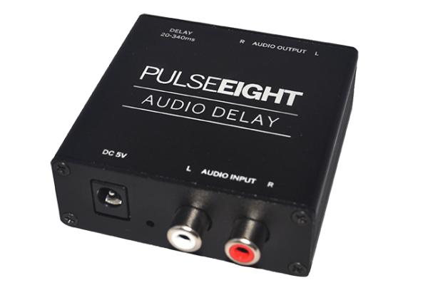 Pulseeight Audio Delay