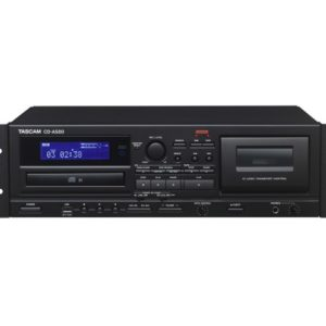 Tascam CD-A580 Cassette Deck with CD Player 2