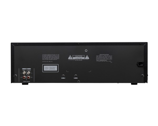 Tascam CD-A580 Cassette Deck with CD Player 1