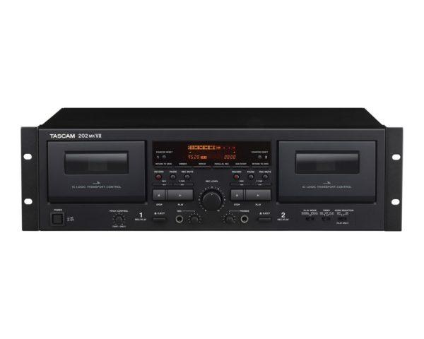 Tascam 202MKVII Dual Cassette Desk with USB Output 2