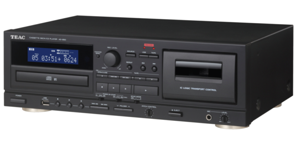 TEAC Cassette deck/CD player - AD-850. 2