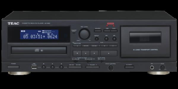TEAC Cassette deck/CD player - AD-850. 3