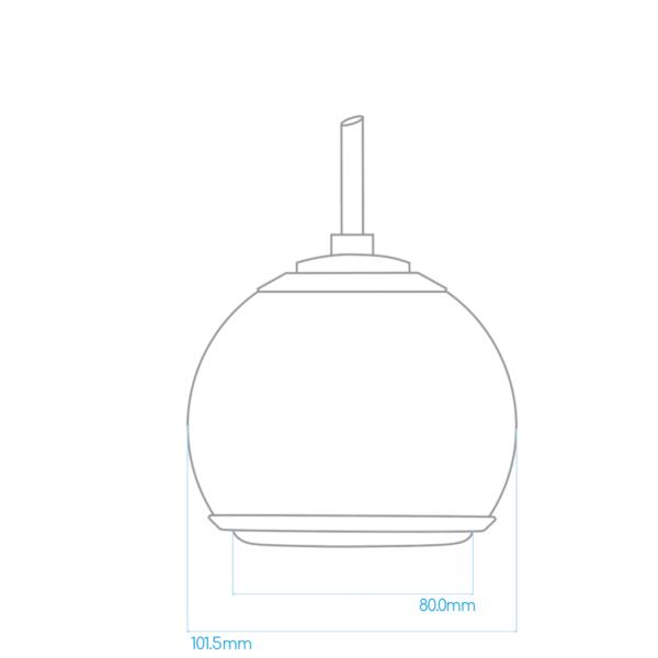 Gallo Droplet - Micro SE (Chrome Edition)(Single)