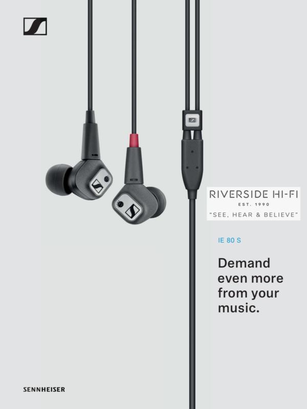 Sennheiser IE 80 S High-End Audiophile Earphones 8