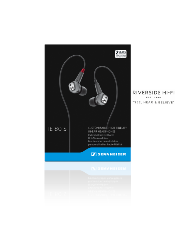 Sennheiser IE 80 S High-End Audiophile Earphones 1