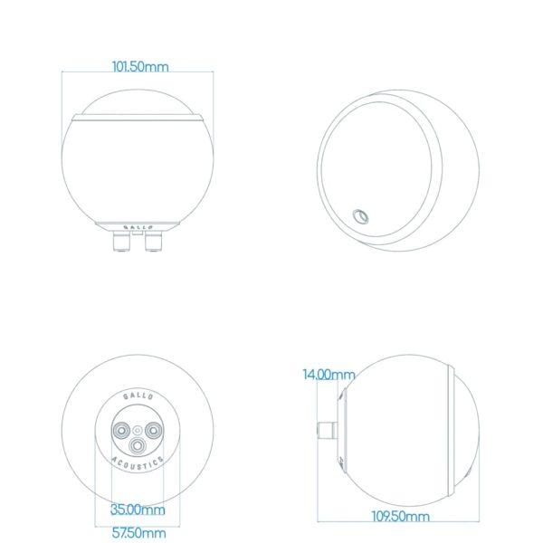 Gallo Micro Speaker - (single) 13