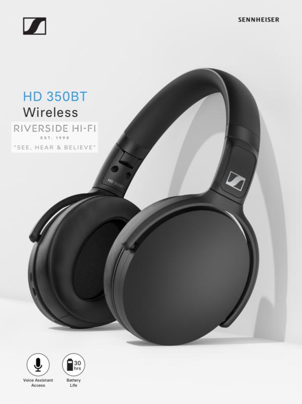 Sennheiser HD350BT Bluetooth Wireless Headphones 5