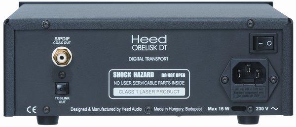 Heed Obelisk DT CD Player