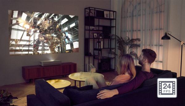 Optoma Cinema X P2 4K Ultra Short Throw Projector 8