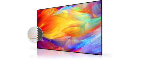 Optoma ALR100 Ambient Light Rejecting Projection Screen 3