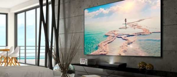 Optoma ALR100 Ambient Light Rejecting Projection Screen 2