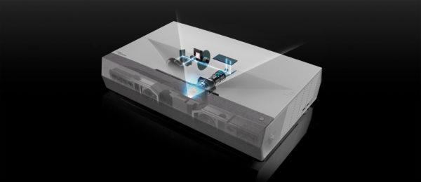 Optoma Cinema X P2 4K Ultra Short Throw Projector 3