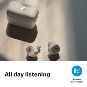Sennheiser CX400BT True Wireless In-Ear Earphones 5