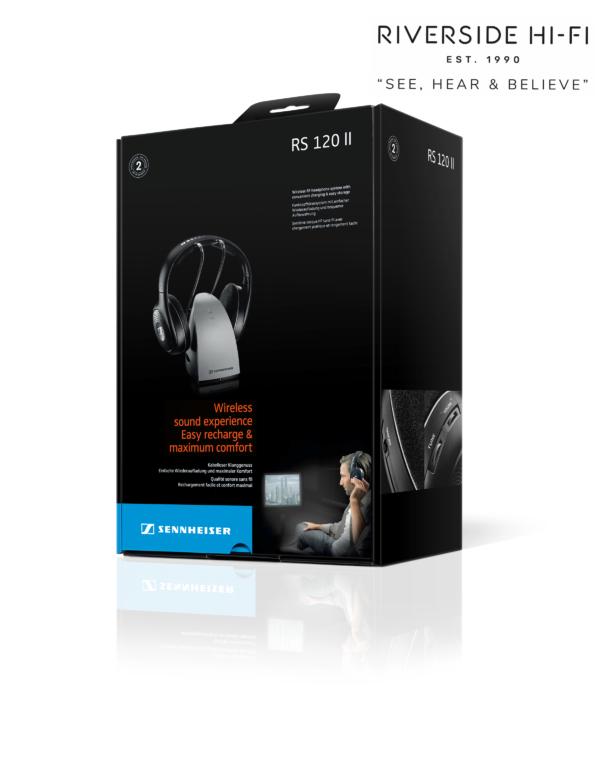 Sennheiser RS120 II (Audio Headphones Stereo Wireless)