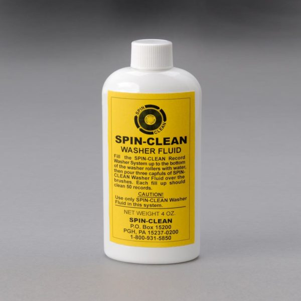 Spin Clean Record Washer Fluid