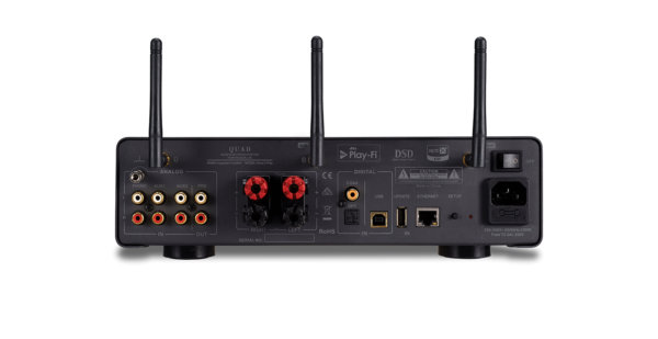 Quad Vena II Play Wireless Streaming Integrated Amplifier