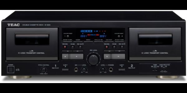 TEAC W-1200 Cassette Deck 3